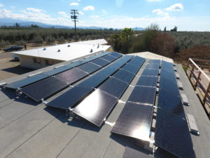 Ballast Roof Solar System