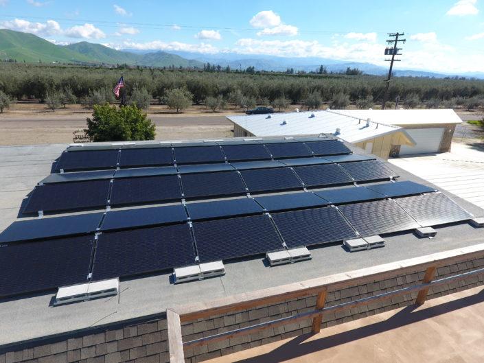 Ballast Solar Roof Mount