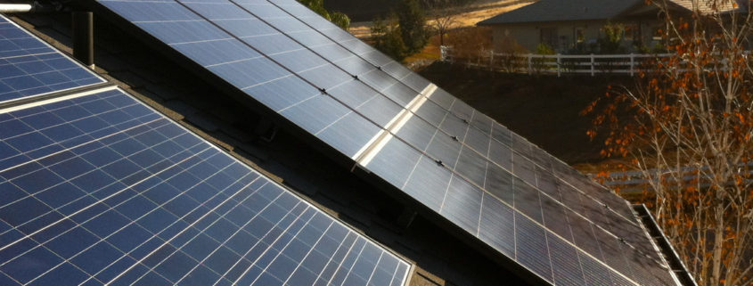 Solar Roof Install