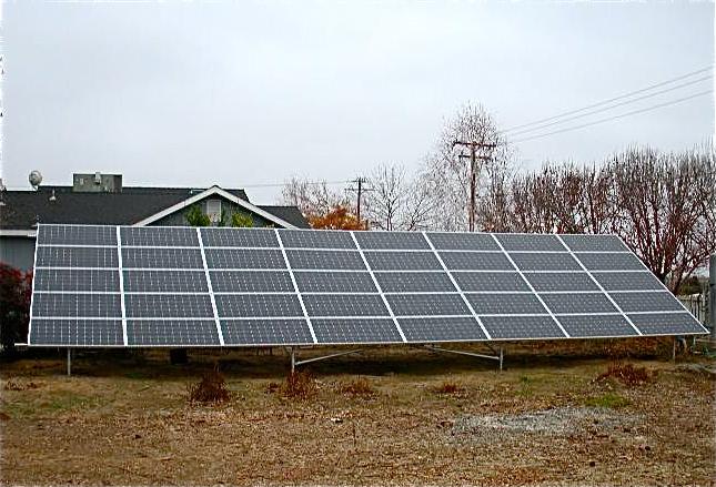 solar panel size