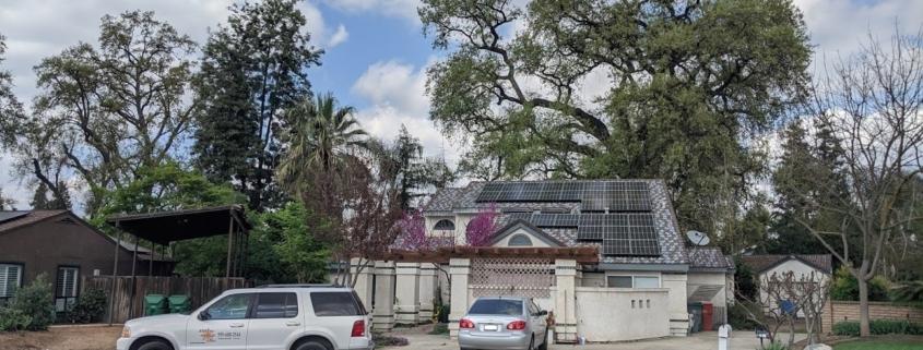 Visalia Solar Install